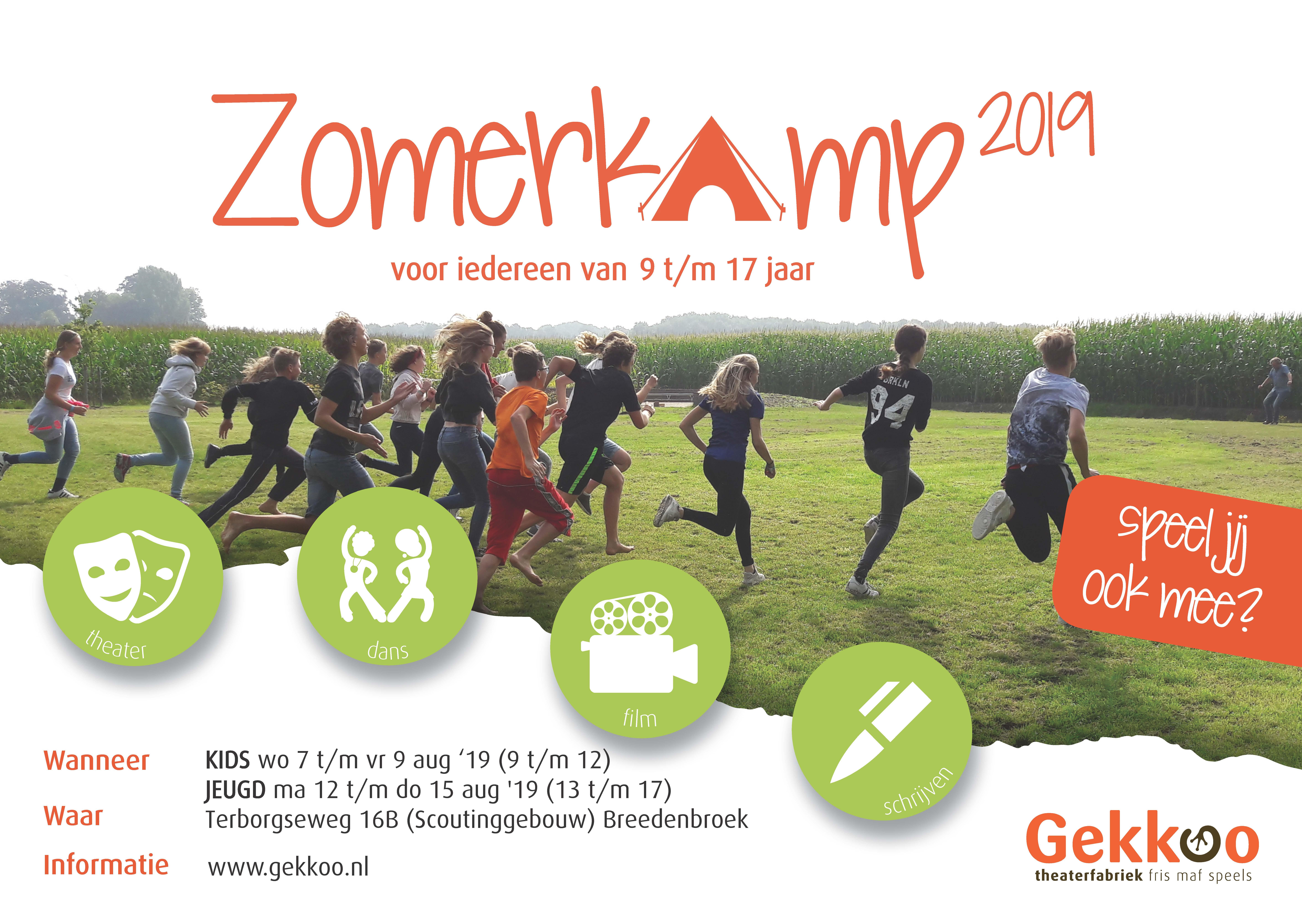 Zomerkamp (12-17 jaar) @ Clubgebouw Scouting Saksenheerd | Breedenbroek | Gelderland | Nederland